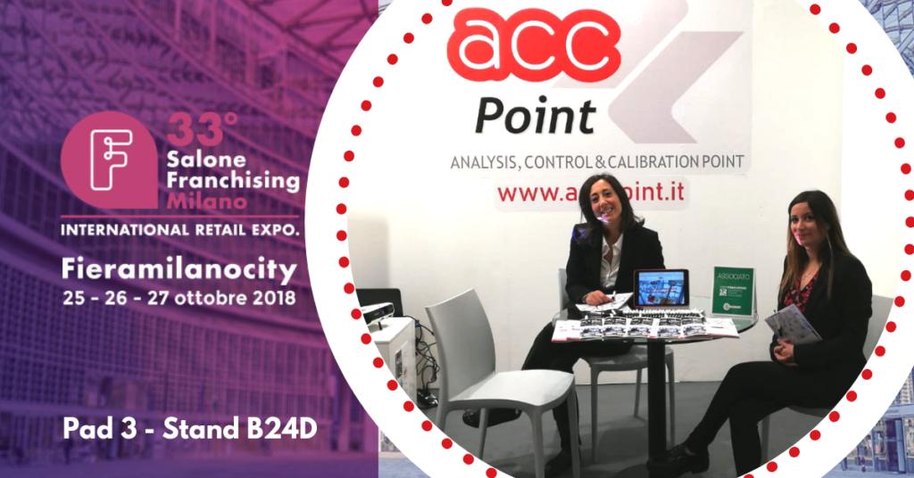 ACC Point presente al 33° Salone Franchising Milano